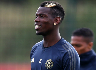 Not for sale: Paul Pogba.
