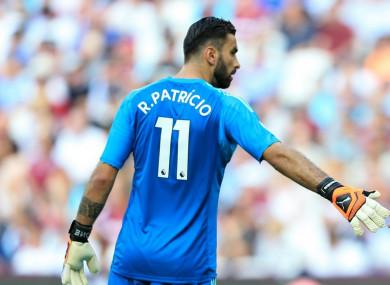 Rui Patricio (file pic).