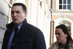 Harrison entering Dublin Castle during the Tribunal's hearings last year