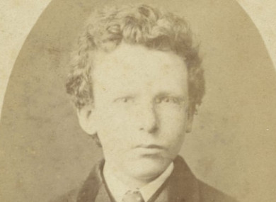 A portrait of 15-year-old Theo van Gogh previously thought to be his brother Vincent.