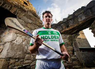Ballyhale star Colin Fennelly at the AIB Leinster GAA Club Hurling Finals Launch.