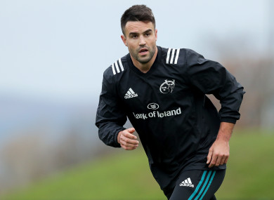 Conor Murray is set to make his long-awaited return this weekend.
