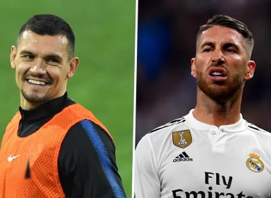 5b86fbd7819  Ramos makes more mistakes than me  - Lovren takes swipe at Real Madrid star