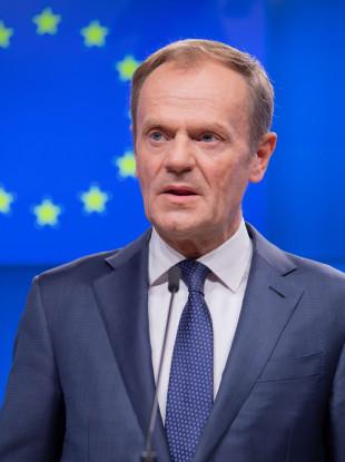 Donald Tusk, EU Council President.