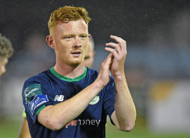 Gary Shaw spent three seasons at Tallaght Stadium before joining St Pat's.