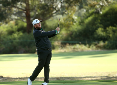 Shane Lowry in action at the World Cup of Golf.