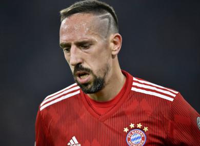 Franck Ribery (file pic).