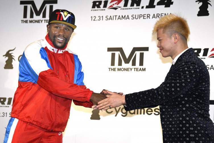 Mayweather seemingly pulls out of fight with kickboxer after