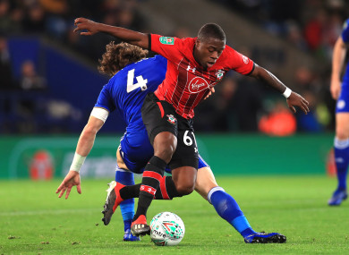 Michael Obafemi has made an encouraging start tonight.