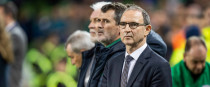 Ireland boss Martin O'Neill pictured during last night's match.