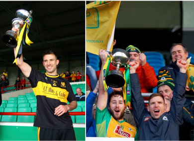 John Payne captained Dr Crokes while Micheal Lundy and Kieran McGrath are the Corofin joint captains.