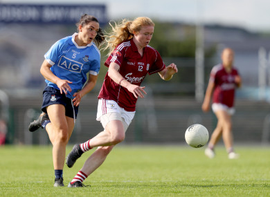 Galway footballer and Kilkerrin-Clonberne captain, Louise Ward.