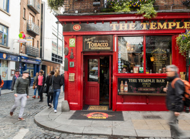 The Temple Bar pub was one of the 99 objectors.