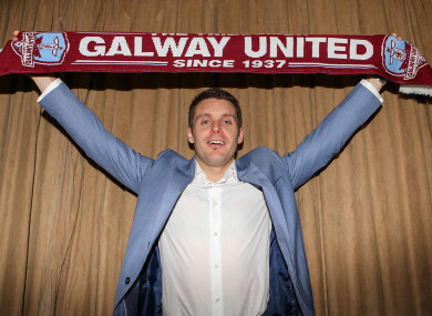Galway United manager Alan Murphy.