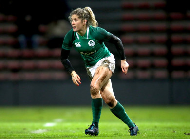 Miller: injured in Ireland's Six Nations game against Italy (file photo).