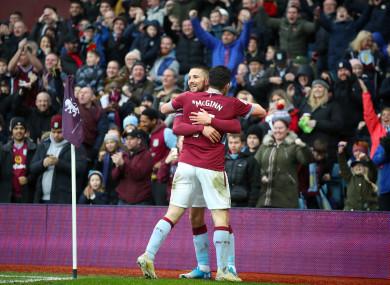 Conor Hourihane celebrates a goal (file pic).