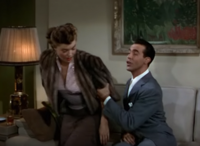 A scene from 1949's Neptune's Daughter