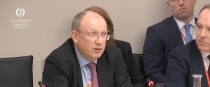 PTSB boss Jeremy Masding before the committee next week.