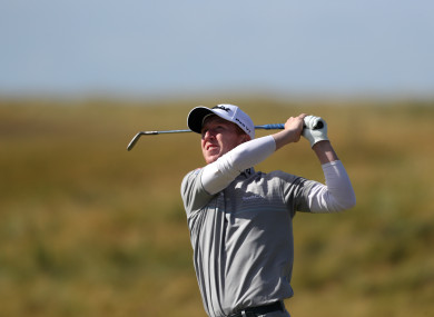 Gavin Moynihan was unable to undo a disastrous opening round at Leopard Creek.