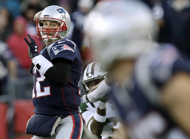 Tom Brady: Patriots ready for another playoff push.