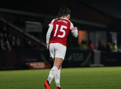 Ireland and Arsenal star Katie McCabe.