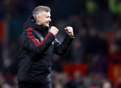 Solskjaer: has spoken to United players about their conduct off the field as well as on it.