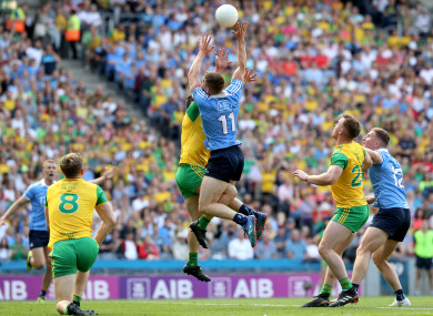 Dublin and Donegal clash in the opening round of the Super 8s this year.
