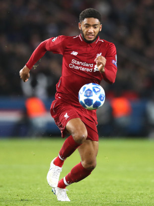 England and Reds defender Gomez.