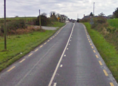 The N69 where the crash occurred.