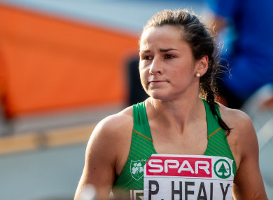 Ireland's Phil Healy pictured at the European Athletics Championships earlier this year.