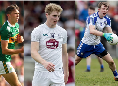 David Clifford, Daniel Flynn and Jack McCarron.