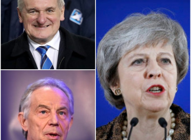 May has come out against attacks from the former Labour PM.