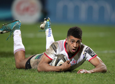 Baloucoune crosses for the match-winning try.