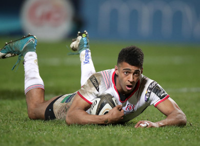 Robert Baloucoune bagged a try in the 19-12 win on Friday.