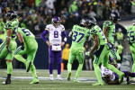 Seahawks seal dominant win over Vikings