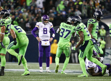 The Seattle Seahawks are on the brink of clinching a playoff place.