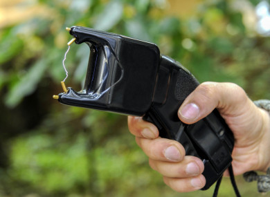 File photo of a Taser