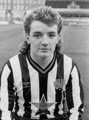 Paul Ferris became Newcastle United's youngest-ever player in 1982.