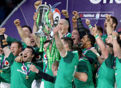 Ireland are 5/6 favourites to retain their Six Nations crown.