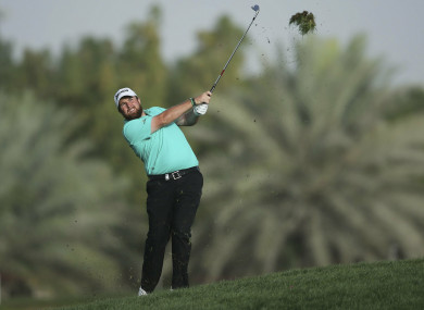 Shane Lowry leads the way heading into the final round in Abu Dhabi.