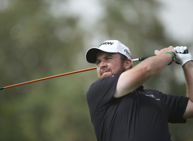 Pride of Offaly: Shane Lowry.