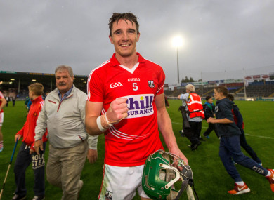 Kanturk star Aidan Walsh has been handed the number 14 jersey for Cork's showdown with Kilkenny.