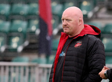 Former Dragons head coach Bernard Jackman.