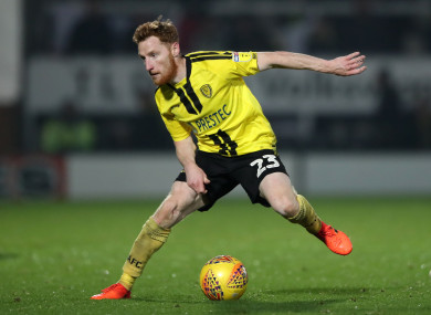 Ireland international Stephen Quinn has got his career back on track after signing for Burton in the summer.