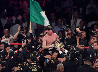 Alvarez: 'I have no doubt that I will be victorious.'