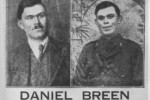 A wanted poster for Dan Breen released after the ambush