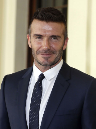 David Beckham (file pic).