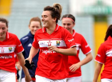 New captain: Doireann O'Sullivan.