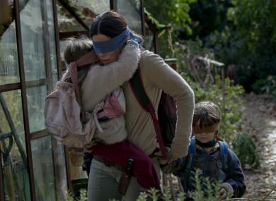 Sandra Bullock stars in the Netflix film.