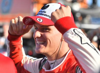Mick Schumacher was crowned Formula 3 European champion in 2018.